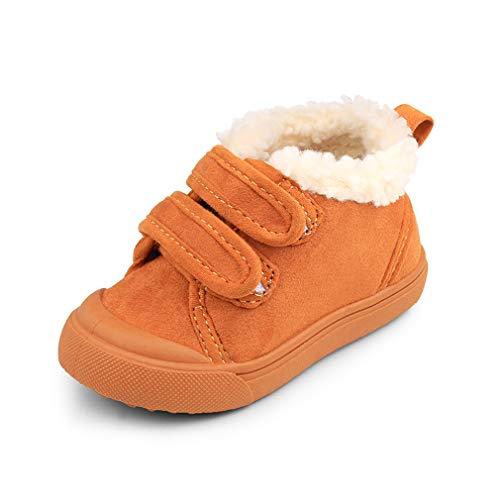 Baby Boys Girls Snow Boots Warm Fleece Kids Winter Shoes Anti Slip Toddler First Walkers