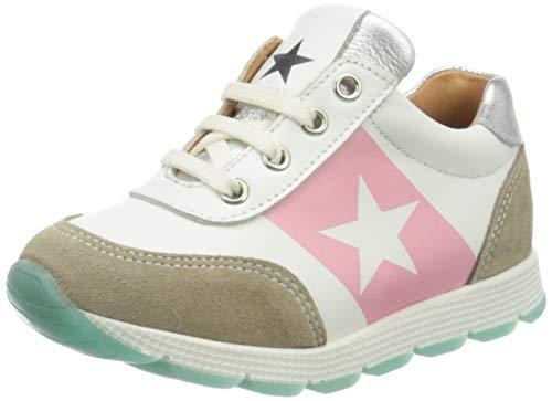 Bisgaard Mädchen Vitus Sneaker, Silber (White/Silver 2304), 33 EU