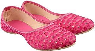 Galaxy Foot Craft Women MAKKHI Belly-Pink (SN20)