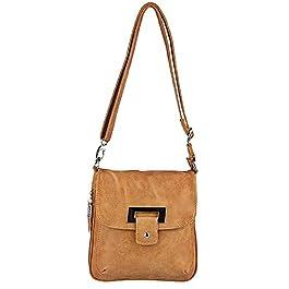Bag Street , Sac pour femme à porter à l'épaule marron cognac