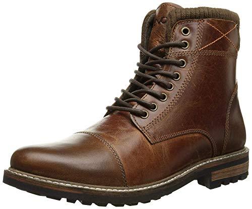 Crevo Men's Camden Fashion Boot, Chestnut Leather, 12 M US