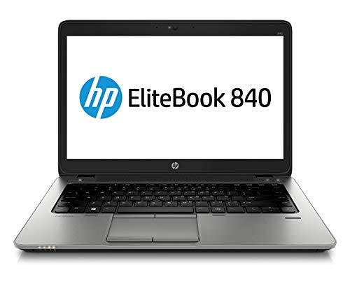 HP EliteBook 840 G2 - PC Portable - 14'' - (Core i5-5300U / 2.30 GHz, 8Go de RAM, Disque SSD 180Go SSD, WiFi, Windows 10, Bluetooth, AZERTY Clavier) Modèle très Rapide (Reconditionné)