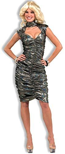 Forum Novelties novelty special use Disco Queen Costume Party Supplies, Gray, Medium Large US