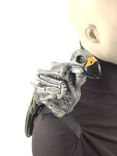 Forum Novelties Ghost Parrot with Shoulder Strap