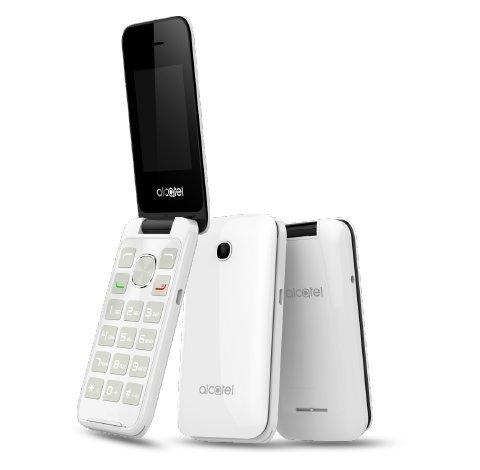 Alcatel 20.51D Handy (6,1 cm (2,4 Zoll) 2 MP Kamera) weiß