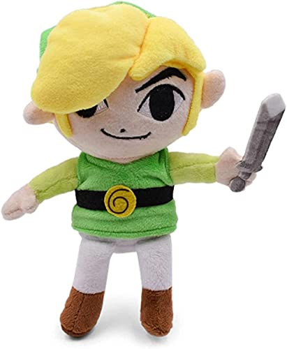 26 cm Zelda Toys Link Link Boy Zelda Soft Peluche Muñeca Juguete para Niños