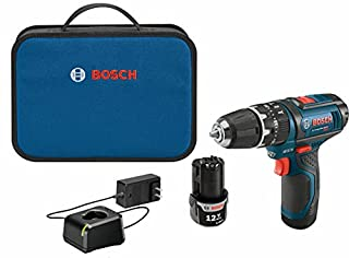 Bosch PS130-2A 3/8-Inch 12-Volt Lithium-Ion Ultra-Compact Hammer Drill/Driver Kit (B007EO8GL0)   Amazon price tracker / tracking, Amazon price history charts, Amazon price watches, Amazon price drop alerts
