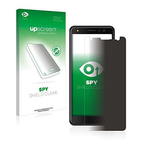upscreen Anti-Spy Blickschutzfolie kompatibel mit Energizer Power Max P490S Privacy Screen Sichtschutz Bildschirmschutz-Folie