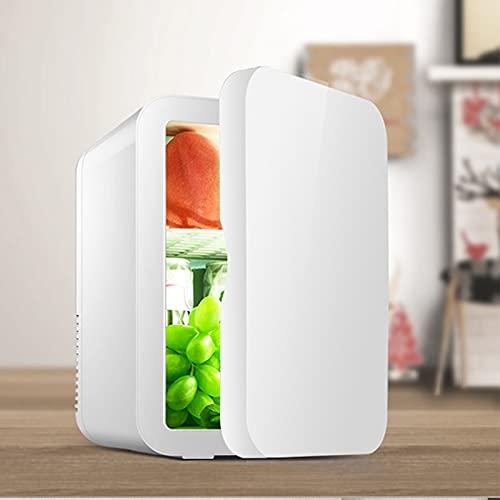 Mini Nevera 8 Litros/12 Latas Portátil Mini Nevera Cosmeticos Mini Refrigerador Para Enfriar Y Calentar Nevera Pequeña Y Silenciosa Para Skincare Alimentos Bebidas Cuidado De La Piel
