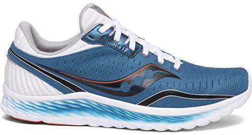Saucony Men's S20551-25 Kinvara 11 Running Shoe, Blue/Black - 9 M US