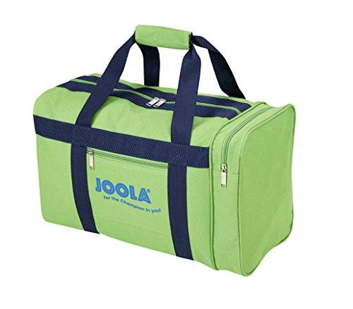JOOLA TT Toba Kompakte Tischtennis-Tasche mit Hauptfach und Nebenfach, GREEN, 44 x 28 x 21 CM