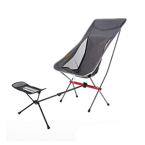YYDD Silla Plegable reclinable para césped Silla de Gravedad Silla de Ocio Silla reclinable Lateral Cómodo Suave Sólido Conveniencia Balcón Playa Pesca Camping