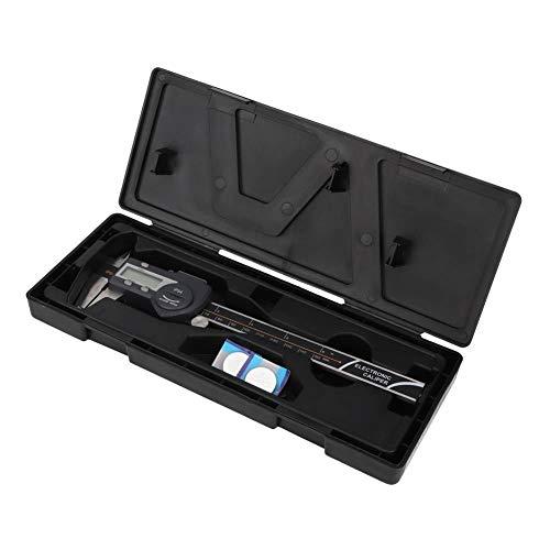 Zerone Herramienta de medición de calibre de regla de acero inoxidable digital electrónica Vernier(0-150mm)
