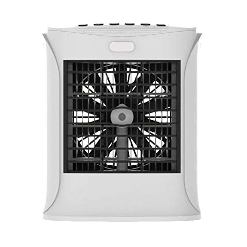 IUYJVR Mini Ventilatore di umidificazione Portatile Bluetooth Air Cooler con Luce a LED Refrigerazione e umidificazione Spray Mini condizionatore d'Aria Cooler Home Office Ventola di Raffreddamento