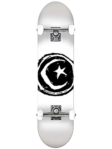 Unbekannt Skateboard Complete Deck Foundation Star & Moon 7.75'' Complete