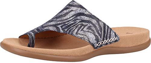 Gabor Shoes Damen Jollys Pantoletten, Blau (Bluette 30), 42 EU