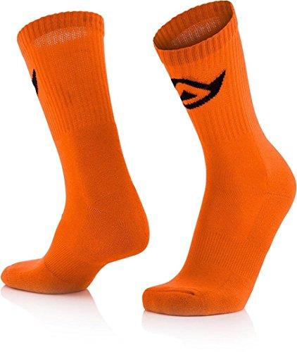 CHAUSSETTES COTON Fluo Orange L/XL
