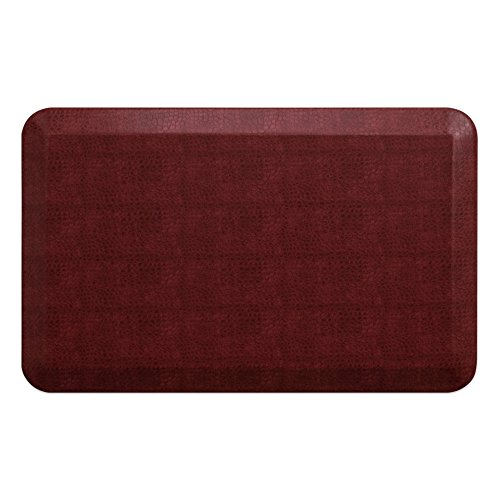 GelPro Designer Comfort Ergo-Foam Anti-Fatigue Kitchen Floor Mat, 20'x32', Pebble Pomegranate
