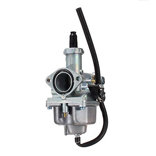 Kungfu Mall Carburador de 26 mm PZ26, filtro de aire, aspiración para 110 cc 125 cc Pitbike Dirt Bike