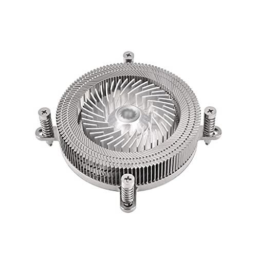WXIANG Aerocool CPU de bajo Perfil Cooler Todo Material Material Aluminio 60mm PWM Ventilador Columna de Calor de Cobre CPU Aire Coole Durable
