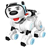 Roboter Hund Ferngesteuertes intelligentes Roboterhundespielzeug Roboterhund Roboter Spielzeug Dog Patrol Dance Singing Robot Toy