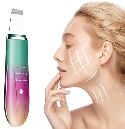 Scrubber Anteamed per la pelle del viso, detergente per i pori, Cleaner Esfoliante, Dispositivo di Pulizia per il viso, Skin Scrubber Dispositivo per la Pulizia...