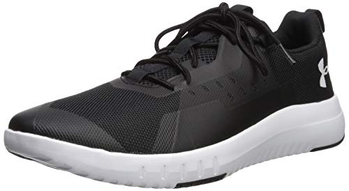 Under Armour Tr96 Zapatillas Deportivas para Interior Hombre, Negro (Black/White/White (002) 002), 43 EU