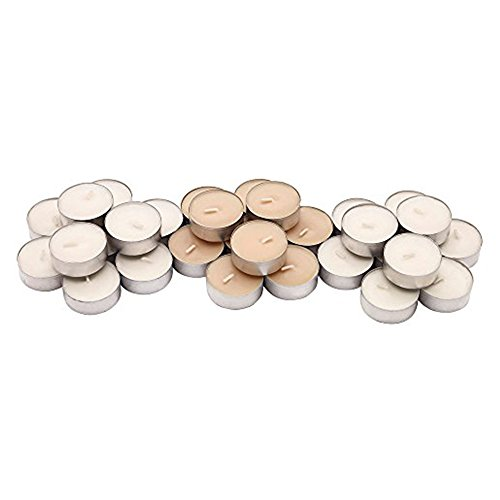 IKEA Sinnlig Scented Tealight, Scent of Sweet Vanilla, Natural Color - 90 Pack