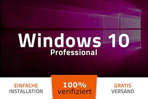 Windows 10 Professional PRO Aktivierungsschlüssel - 32/64Bit - multiligual - 100% verifiziert deutsche Ware - mit AUDIT Zertifikat von exitosoft