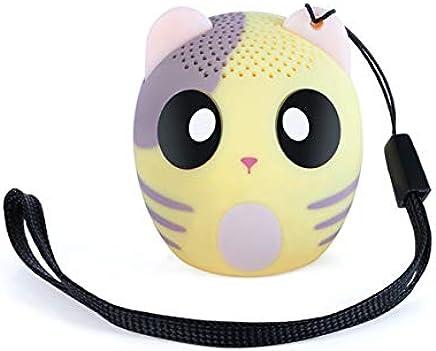 LAKD Mini Animale Bluetooth Altoparlante Portatile Cartone Animato All'aperto Lettore Musicale Zoom in Altoparlante Supporto Altoparlante Selfie Altoparlante Giallo - Trova i prezzi più bassi