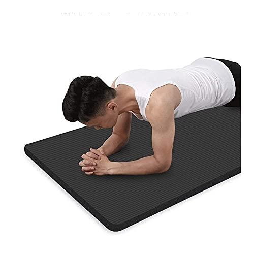 Alfabeto de yoga para hombres ejercicio NBR Mapa de espuma de fitness 15 mm extra gruesa gruesa antideslizante de alta densidad acolchada para pilates gimnasia estirando entrenamiento de aptitud con c