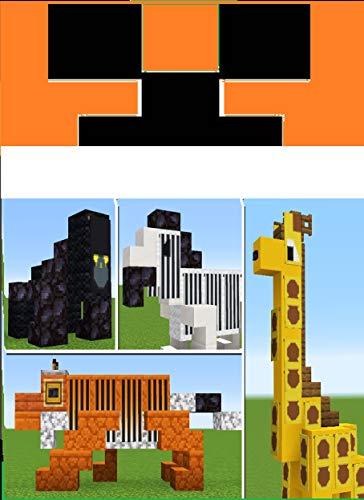 10+ Animals Build Hacks in Minecraft Java & Bedrock (English Edition)