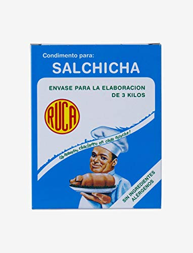 Salchicha - Envase para la Elaboración de 3 Kilos (ESTE PRODUCTO NO CONTIENE GLUTEN NI LACTOSA.)