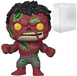 Red Hulk Zombie #790 Marvel Zombies: statuetta in vinile (include custodia protettiva Ecotek Pop)