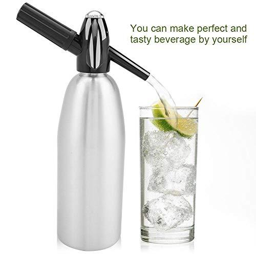 HEHUANG 1L Soda Siphon CO2 Distributeur Bulle D'eau Générateur Soda Maker Cool Drink Cocktail Soda Machines