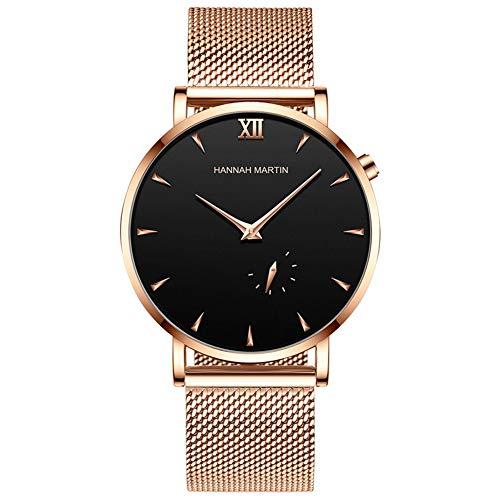 MROSW Fashion Punk Uhren Mann-Quarz-Uhr Big Fall Sports Mann-Uhr-Beiläufige wasserdichte Armbanduhr,A