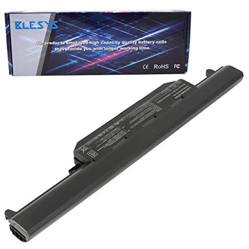 BLESYS 10.8V 6-Célula A32-K55 Compatible con ASUS A45 A45D A45DE A45N A45V A45VM A55 A55A A55D A55DE A55DR A55N A55V A55VD A55VM A55VS A75 A75A A75D A75V A75VM Serie Batería de computadora portátil