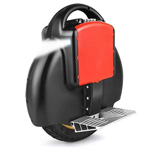 Helmets Monociclo eléctrico,Hover Scooter Board De 14 Pulgadas,con Altavoz Bluetooth y Función App,Sola Rueda Auto Equilibrio Monociclo Scooter Unisex,Black