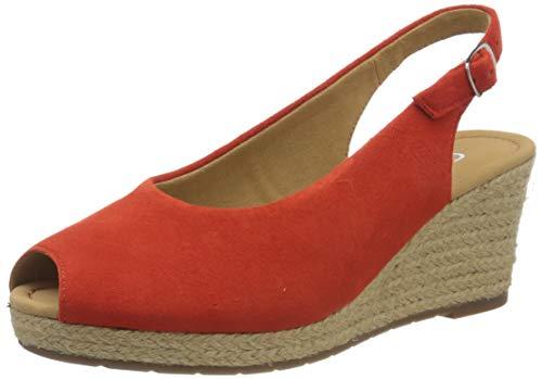Gabor Shoes Damen Comfort Basic Pumps, Rot (Koralle (Jute) 39), 37 EU