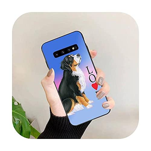 Happy horse - Custodia per Samsung S 6 7edge 8 9 10 20 plus lite UlTRA case-a3 per Galaxy S5