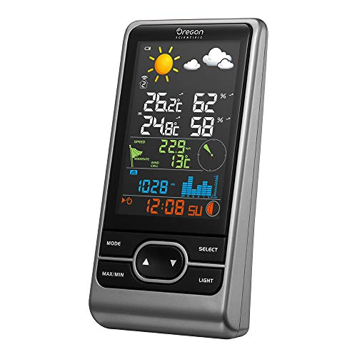 Oregon Scientific Stazione Meteo Professionale con Display a Colori OS0200