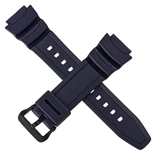 Correa de reloj Casio para AE-1000W-2 AE 1000W 1000 AZUL 10515884