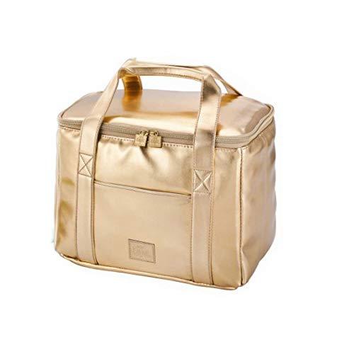 Be Cool Elegante City Kühltasche Gold 29x18x21 cm - Einkaufstasche die kühlt und Chick aussieht mit ergonomischen Griffen