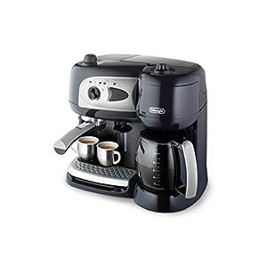 DeLonghi BCO 260.CD.1 Independiente Manual – Cafetera (Independiente, Cafetera combinada, 2,6 L, Dosis de café, De café molido, Negro)