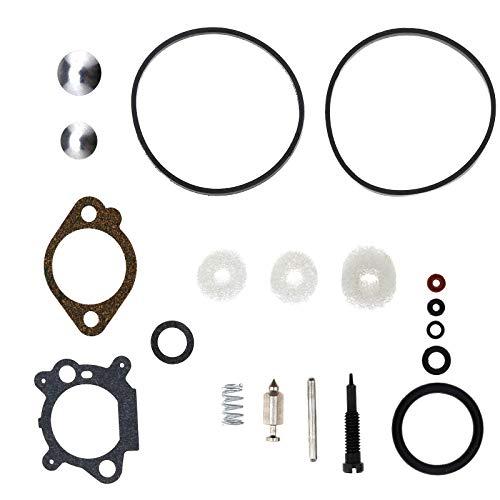 Satz Vergaser Carb Dichtungs-Sortiment Vergaser Reparatursatz für Briggs Stratton Quantum Max Engine 398183/498261/490937