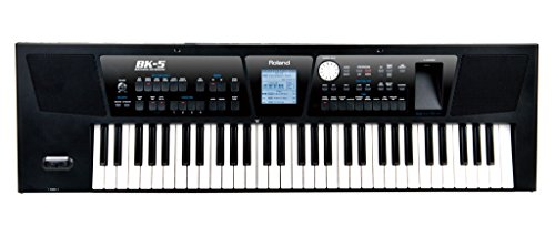 New Roland, 61-Key Portable Keyboard, 1,172 Tones 60 Drum Sets (BK-5)