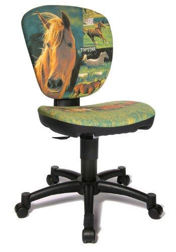 Topstar Maxx Kid Horse Chaise de bureau pivotante pour enfant Vert