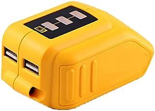 12V/20V Max USB Power Source for Dewalt DCB090 Converters Fit for Dewalt 20V 12V Battery