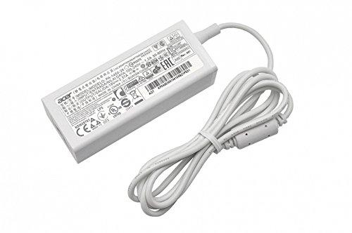 Acer Cargador 45 vatios Blanca Original para la série Aspire One Cloudbook AO1-131