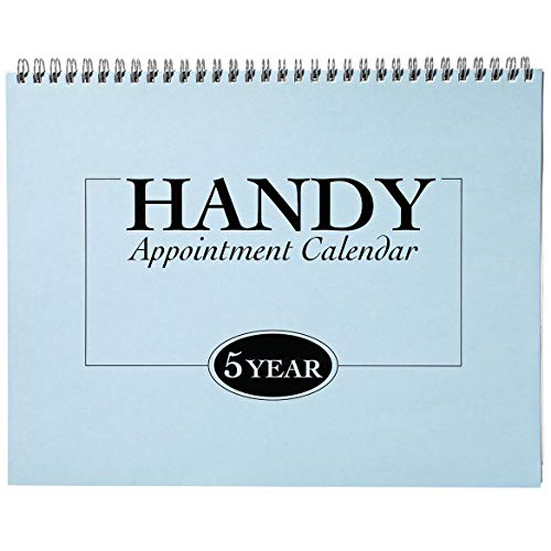 5-Year Appointment Calendar Planner…